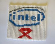 intel aids ribbon