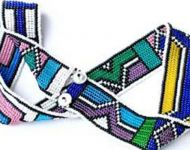 Ndebele beaded belt